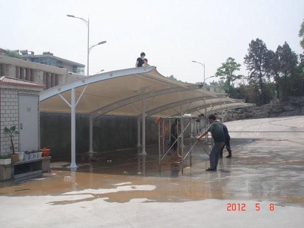 山东省塑料集团车棚