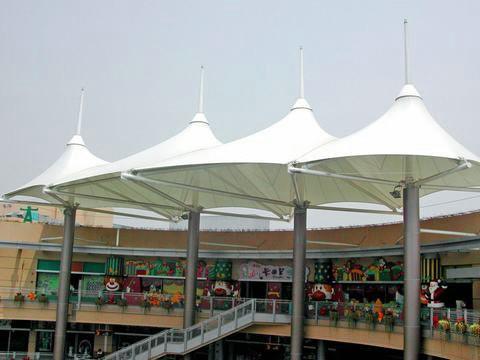 泰安宁阳商城膜结构