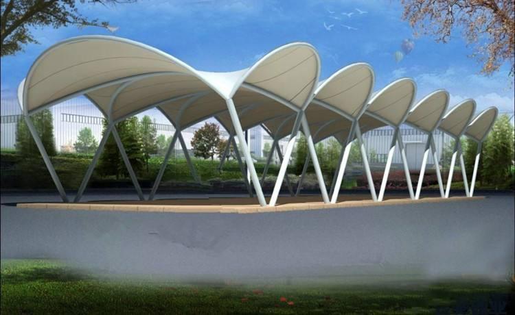 景观膜结构长廊